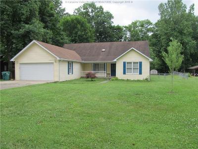 Poca Single Family Home For Sale: 107 Poplar Pt