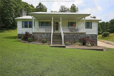 Cross Lanes Single Family Home For Sale: 4755 Fire Creek Road