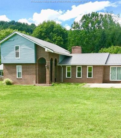 Poca Single Family Home For Sale: 1295 Poca River Road S