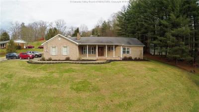 Cross Lanes Single Family Home For Sale: 5304 Sunrise Lane