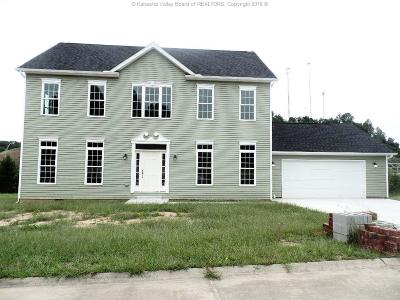 Scott Depot Single Family Home For Sale: 123 Scottsdale Lane