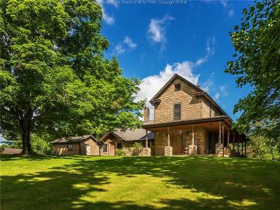 Scott Depot Single Family Home For Sale: 9652 Teays Valley Road