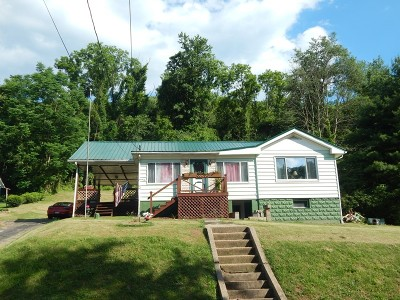 Paden City WV Single Family Home For Sale: $56,900