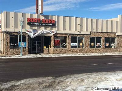 Laramie Commercial For Sale: 158 N 3rd St