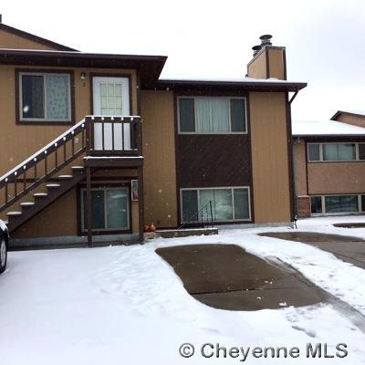 Laramie Single Family Home For Sale: 1724 Fetterman Dr #4