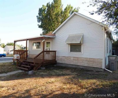 Cheyenne WY Single Family Home For Sale: $130,000