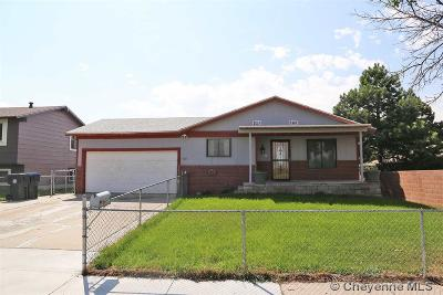 Cheyenne WY Single Family Home For Sale: $229,000