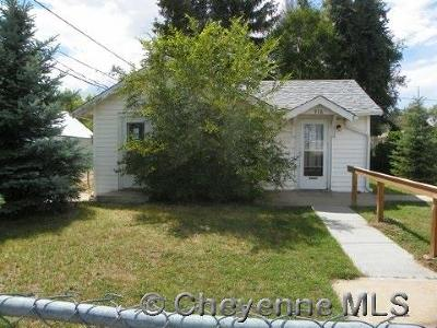 Cheyenne WY Single Family Home For Sale: $70,200