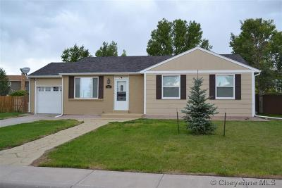 Cheyenne WY Single Family Home For Sale: $239,900