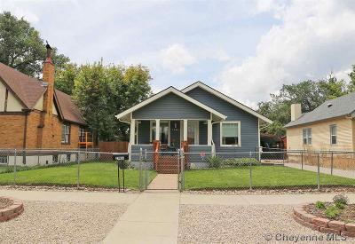 Cheyenne WY Single Family Home Temp Active: $199,000