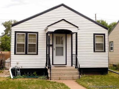 Cheyenne WY Single Family Home Temp Active: $142,900