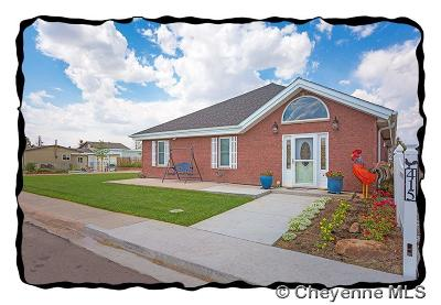 Pine Bluffs Single Family Home For Sale: 415 E 4th St