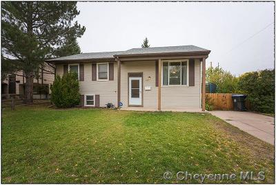 Cheyenne WY Single Family Home For Sale: $185,000