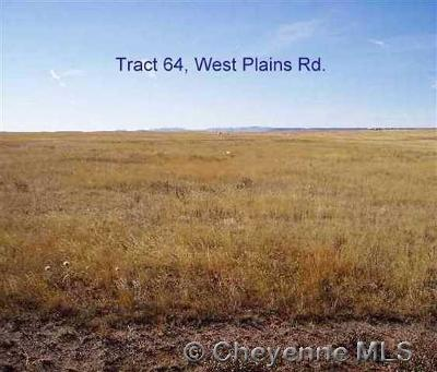 Cheyenne Residential Lots & Land For Sale: Tract 64 West Plains Rd