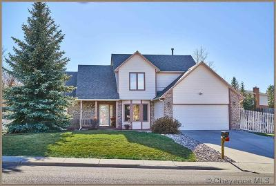Cheyenne WY Single Family Home For Sale: $344,900