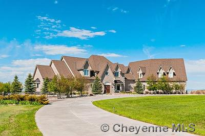 Cheyenne WY Single Family Home For Sale: $925,000