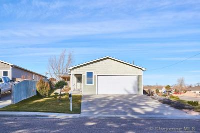 Cheyenne WY Single Family Home For Sale: $287,000