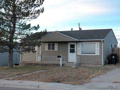Cheyenne WY Single Family Home For Sale: $150,000