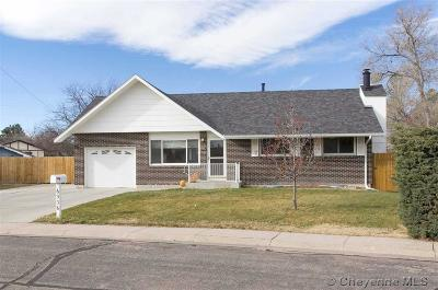 Cheyenne WY Single Family Home For Sale: $234,000