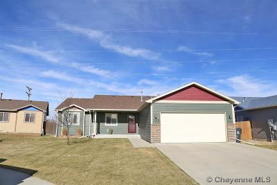 Cheyenne WY Single Family Home For Sale: $274,900