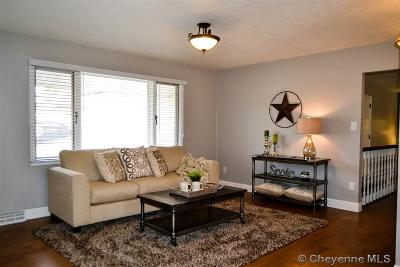 Cheyenne WY Single Family Home For Sale: $329,900