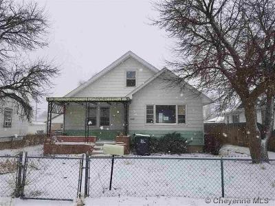 Cheyenne WY Single Family Home For Sale: $116,600