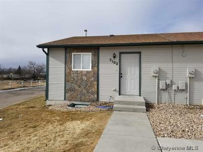 Cheyenne Condo/Townhouse For Sale: 5102 Ridge Rd