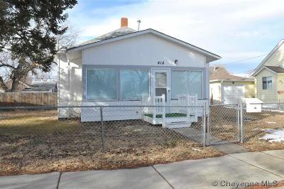 Cheyenne Single Family Home For Sale: 414 E 9th St