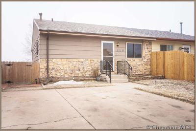 Cheyenne Single Family Home For Sale: 5119 Atlantic Dr