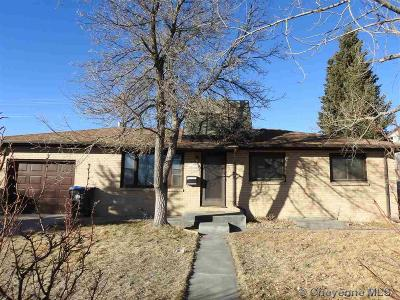 Cheyenne WY Single Family Home For Sale: $163,000
