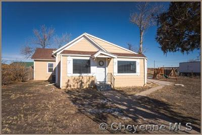 Pine Bluffs Single Family Home For Sale: 207 E 3rd St