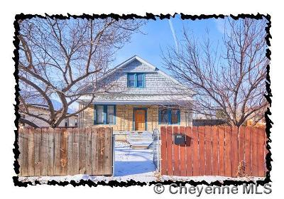 Cheyenne WY Single Family Home Temp Active: $225,000