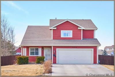 Cheyenne WY Single Family Home Temp Active: $279,900