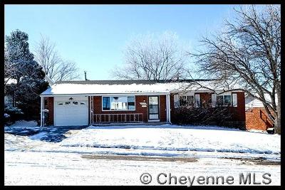 Cheyenne WY Single Family Home Temp Active: $235,000