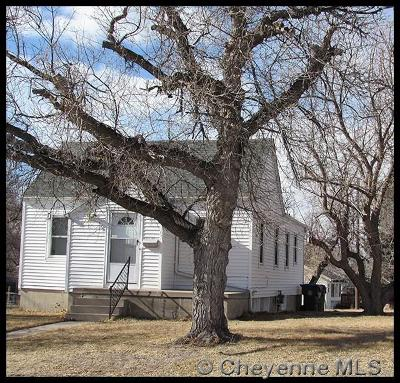 Cheyenne WY Single Family Home For Sale: $175,000
