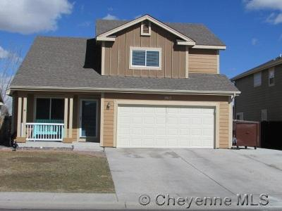 Cheyenne WY Single Family Home Temp Active: $299,900
