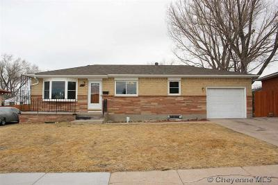 Cheyenne WY Single Family Home Temp Active: $220,000