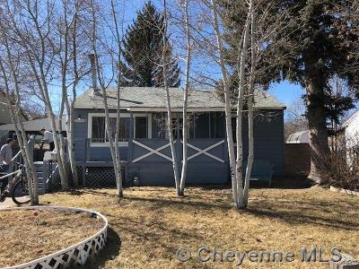 Cheyenne WY Single Family Home Temp Active: $186,000