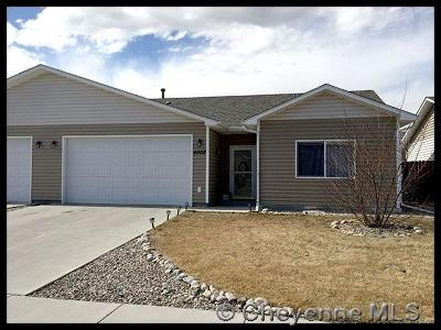 Cheyenne WY Single Family Home Temp Active: $210,000