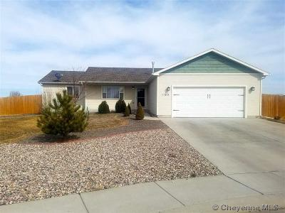 Cheyenne WY Single Family Home Temp Active: $255,000