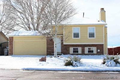 Cheyenne WY Single Family Home Temp Active: $249,000