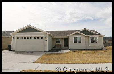Cheyenne WY Single Family Home For Sale: $254,996