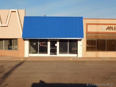 Pine Bluffs Commercial For Sale: 212 Main St