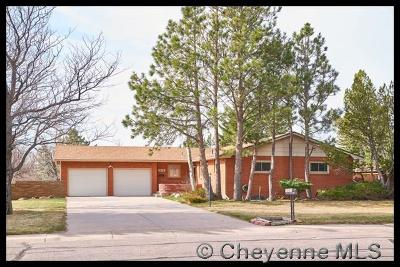 Cheyenne WY Single Family Home For Sale: $340,000