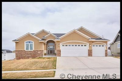 Cheyenne WY Single Family Home For Sale: $450,000