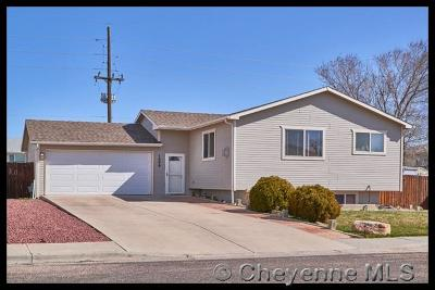 Cheyenne WY Single Family Home Temp Active: $242,500