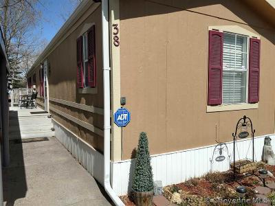 Cheyenne Mobile Home For Sale: 609 E Prosser Rd #38