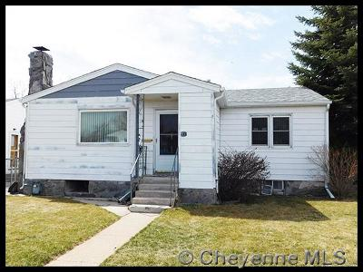 Cheyenne WY Single Family Home Temp Active: $159,900
