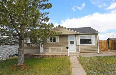 Cheyenne WY Single Family Home Temp Active: $209,900