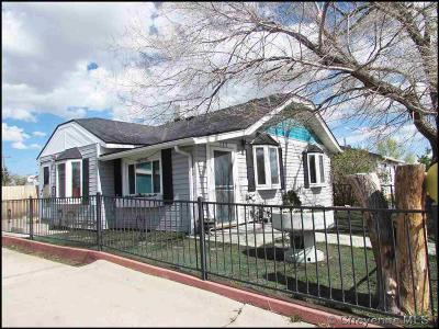 Cheyenne Single Family Home For Sale: 717 Carey Ave